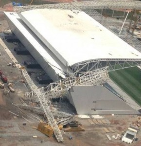 Fatal crane collapse at Sao Paulo World Cup stadium