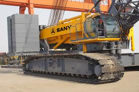 SANY America introduces 550 ton crawler crane SCC8500