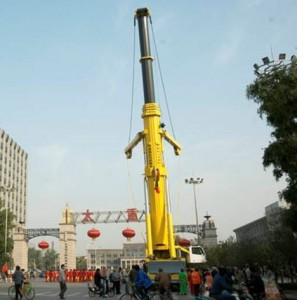 TYHI showcases 500t All Terrain crane
