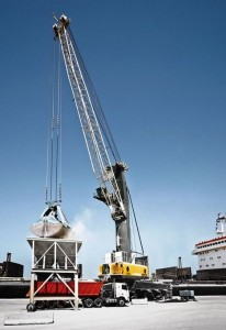Liebherr sells harbour cranes in the Middle East