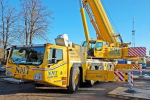 Delivery of Terex explorer 5800