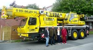 German Klema acquires 5 grove all terrain cranes