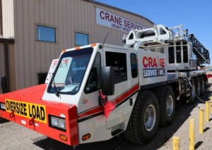 First Link Belt ATC3210 all terrain crane delivered