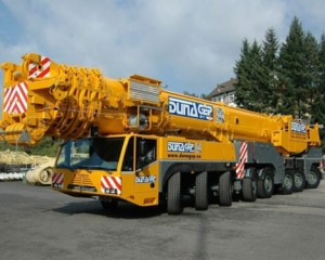 500t Terex AC500 for Hungary