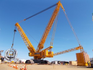ALE completes Australian projects with Liebherr crane