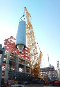 Argentina's largest crane assists coke project