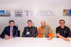 Davis Crane in big Terex truck crane order