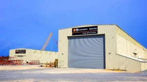 H&E unveils new Manitowoc crane remanufacturing center