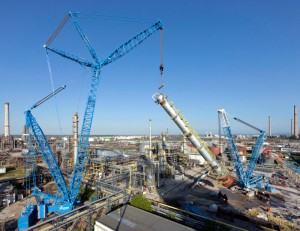 Liebherr LR 11000 works for the first time