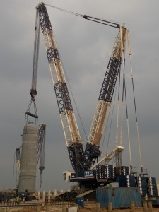 Liebherr crane assists fertile growth in Indonesia