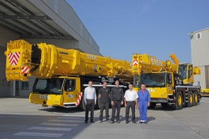 Liebherr cranes are the latest in Steil
