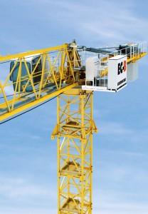 Liebherr upgrades flat-top crane