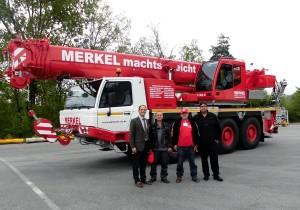 Merkel extends fleet with Tadano ATF 50G-3