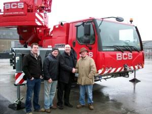 New Irish crane hire firm adds Liebherrs