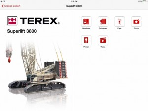 Terex launches digital app for crane companies