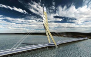 The development of a cable stayed bridge