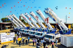 ThermaPrime takes eight Tadano cranes