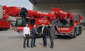 Updated Liebherr cranes extend boom reach