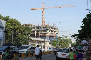 Custom Liebherr towers for Shwe Taung in Myanmar