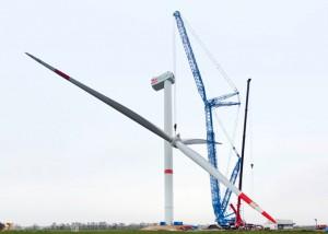 Felbermayr assembles turbine using LR 11000