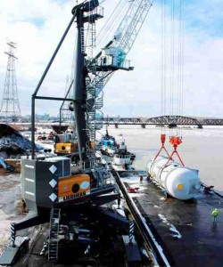 Record year for Liebherr harbour cranes