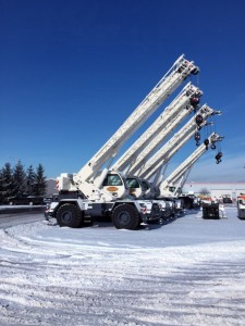 Stevenson Crane adds 9 Terex RTs to fleet