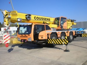 Coussens takes on Terex
