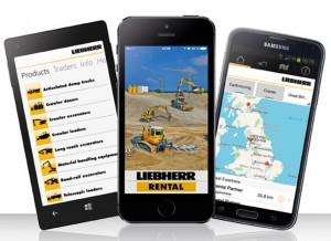 Liebherr launches rental app