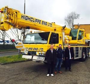 First new crane for Highcliffe