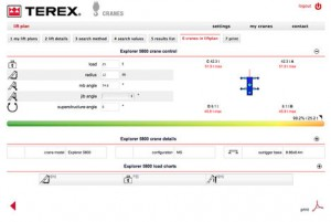 Terex launches free online lift planner