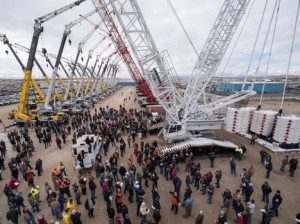 Crane auction raises $35 million
