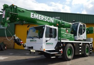 Two new Liebherr cranes for Emerson